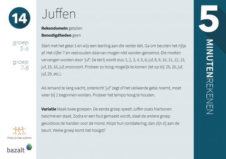 Top 5 minuten Rekenen - Originele rekenactiviteiten voor elke leeftijd &QK09